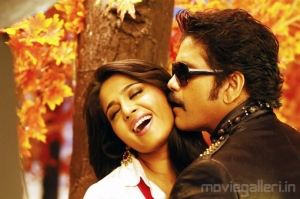Anushka Nagarjuna Hot Vambu Movie Stills