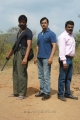 Kishore, Arjun, Ravi Kale in Vana Yudham Tamil Movie Stills