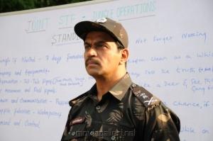 Actor Arjun in Vana Yudham Tamil Movie Stills