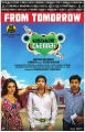 Priya Anand, Santhanam, Shiva in Vanakkam Chennai Movie Release Posters