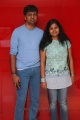 Lyricist Madhan Karky's wife Nandini @ Vanamagan Audio Launch Stills