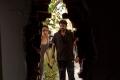 Sayyeshaa Saigal, Director Vijay @ Vanamagan Shooting Spot Stills