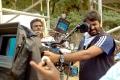 Director Vijay @ Vanamagan Shooting Spot Stills