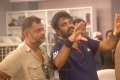 Cinematographer Tirru, Director Vijay @ Vanamagan Shooting Spot Stills