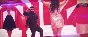 Actor Silambarasan Vantha Rajavathaan Varuven Red Cardu Song Stills