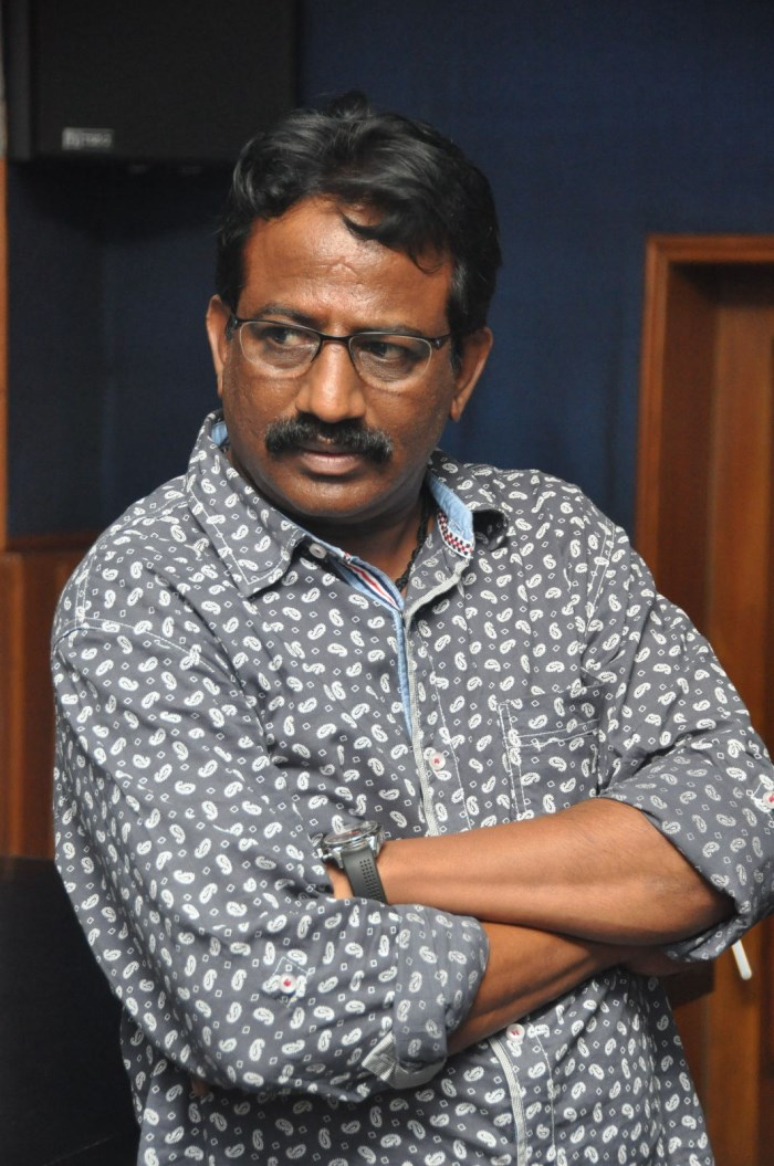 Producer Sai Korrapati @ Varahi Chalana Chitram Prod No 3 Movie Recording Photos