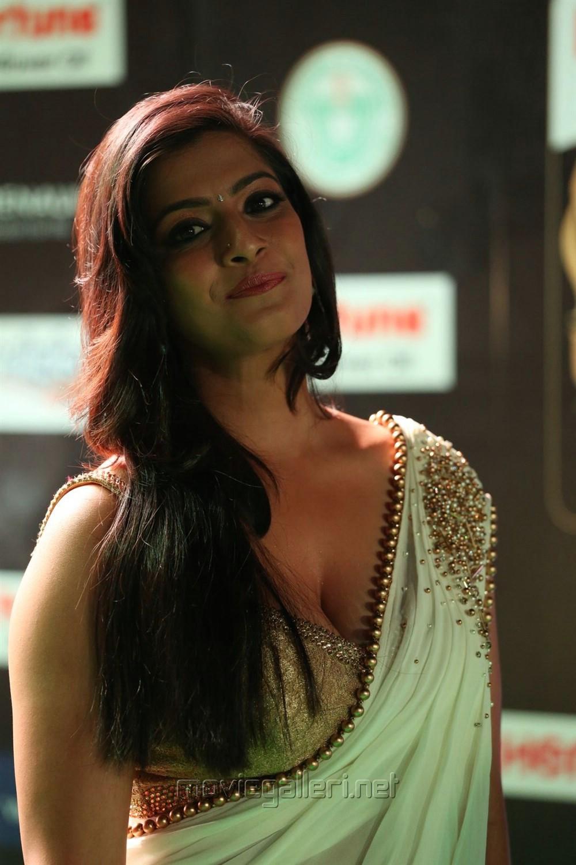 Picture 1180864 Actress Varalaxmi Saree Hot Photos At