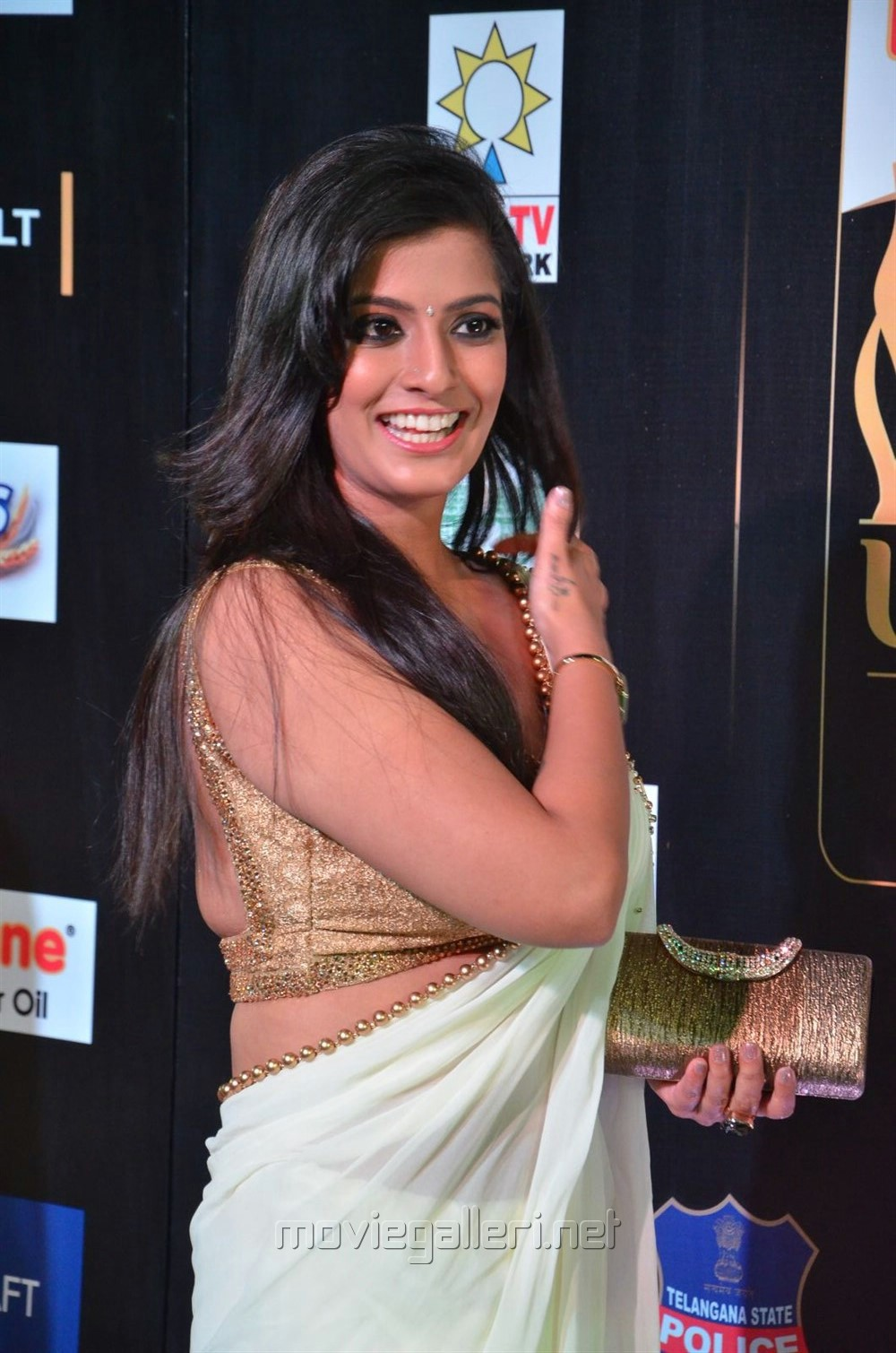 Actress Varalaxmi Sarathkumar at International Indian Film Academy Awards (IIFA) Utsavam 2017