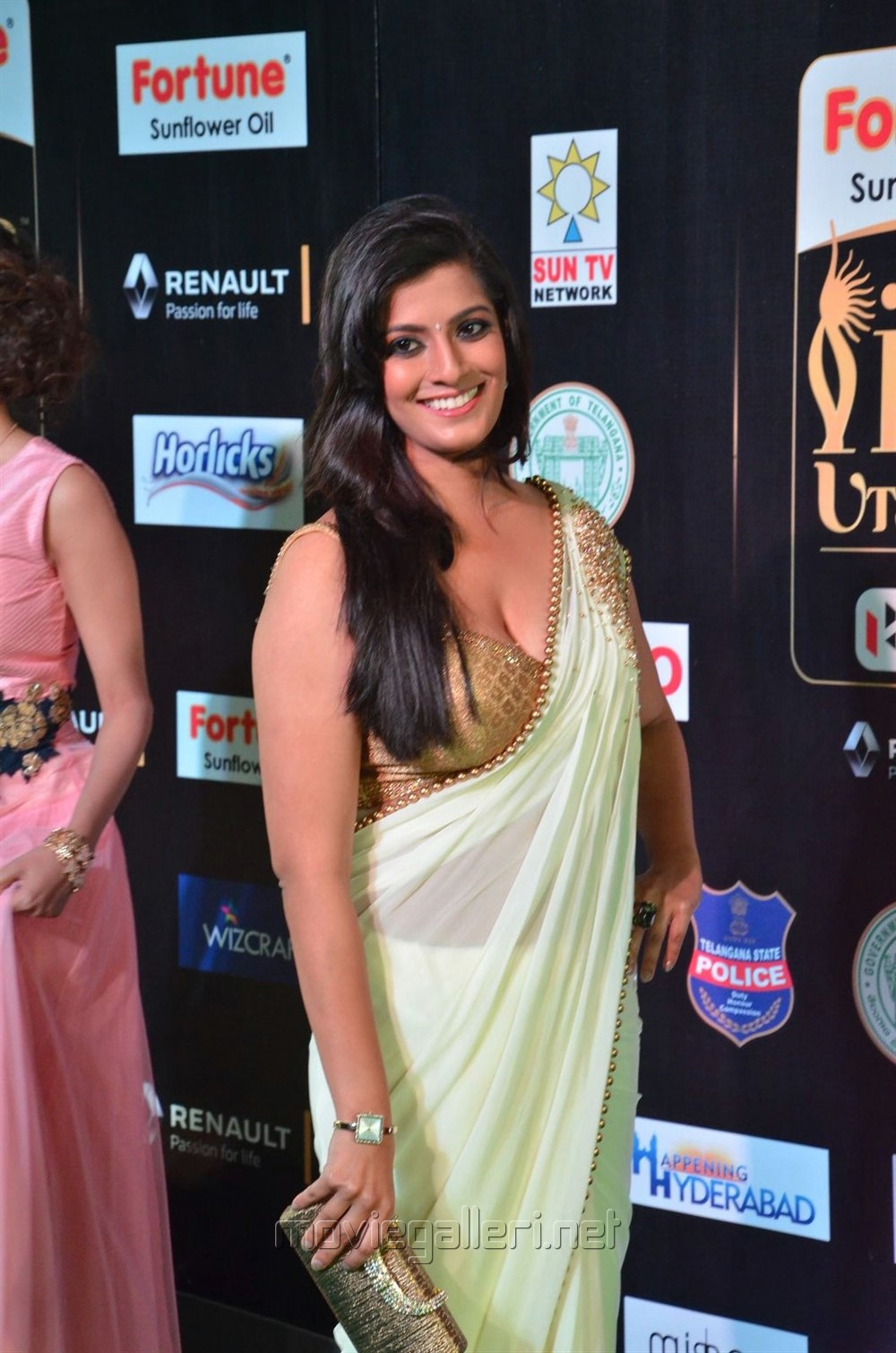 Actress Varalaxmi Saree Hot Photos at IIFA Utsavam 2017 (Day 1)