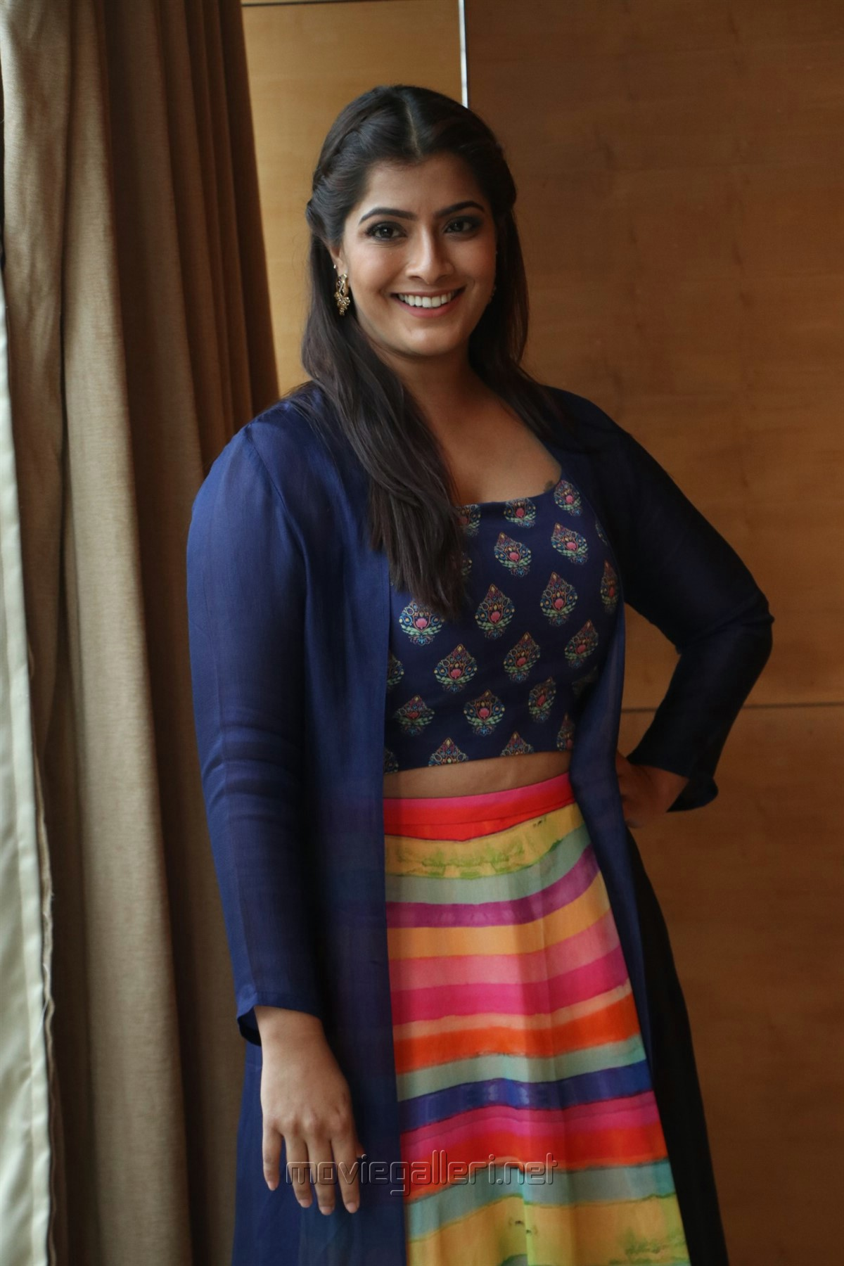 Actress Varalaxmi HD Pics @ Maari 2 Press Meet