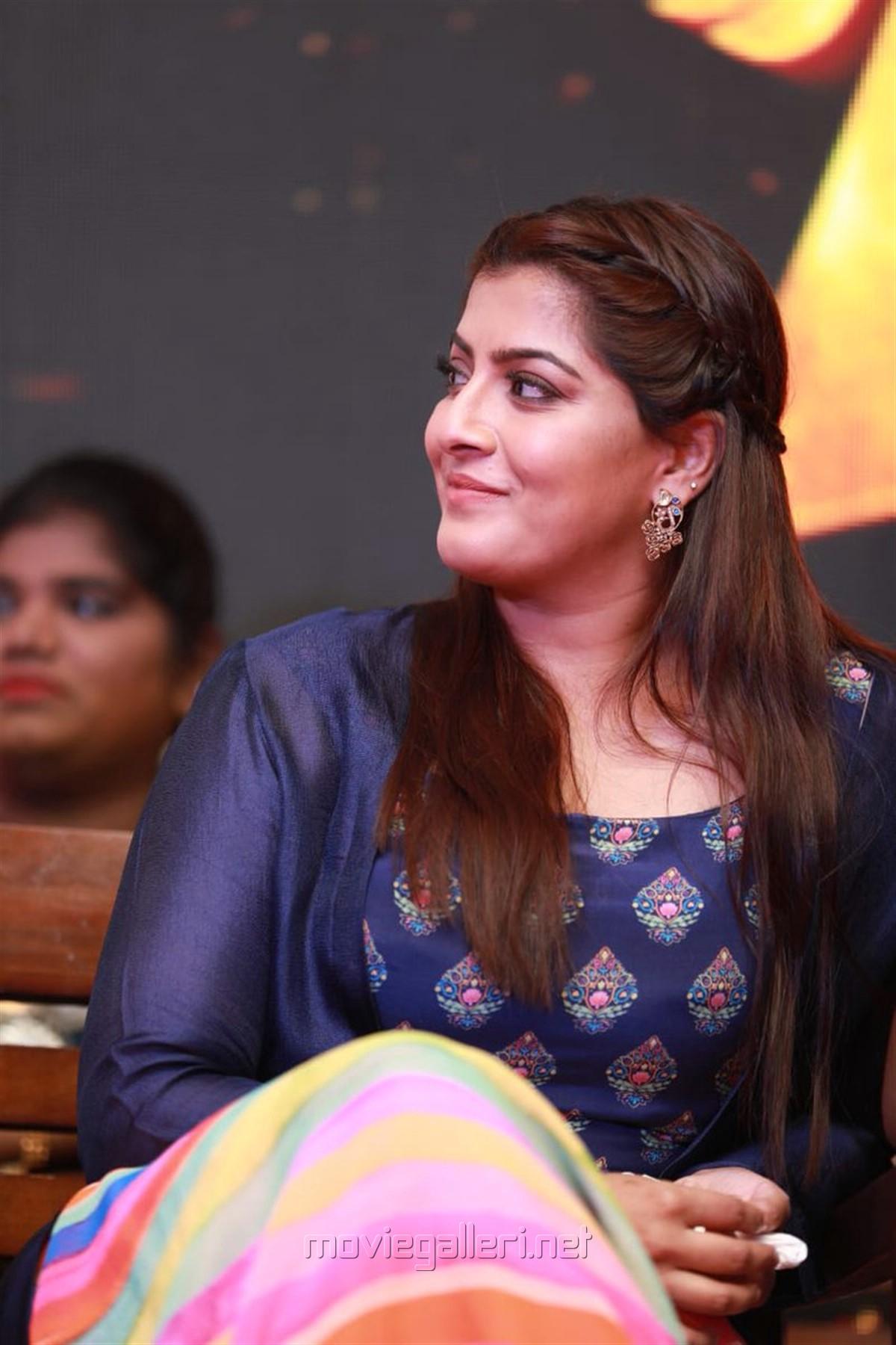Actress Varalaxmi HD Pics @ Maari 2 Movie Press Meet
