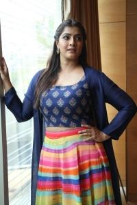 Actress Varalakshmi Sarathkumar HD Pics @ Maari 2 Press Meet