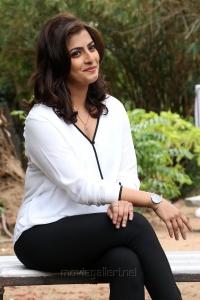 Actress Varalakshmi Sarathkumar Latest Photos in White Dress