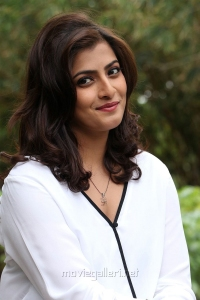 Actress Varalaxmi Sarathkumar Latest Photos in White Dress
