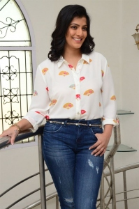 Actress Varalaxmi Images @ Naandhi Movie Interview
