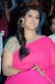 Varalakshmi Photos in Pink Saree at Madha Gaja Raja Audio Launch