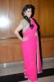 Varalakshmi Pink Saree Photos @ Madha Gaja Raja Audio Release