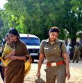 Tamil Actress Varsha Ashwathi in Neer Paravai Stills