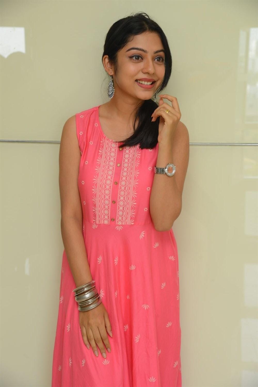 Actress Varsha Bollamma Cute Images @ Choosi Choodangane Press Meet