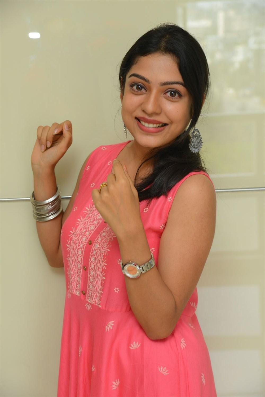Actress Varsha Bollamma Images @ Choosi Choodangane Press Meet