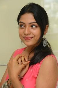 Actress Varsha Bollamma Images @ Choosi Choodangane Movie Press Meet