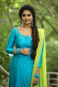 Actress Varsha Viswanath Pics @ Andamaina Lokam Movie Opening
