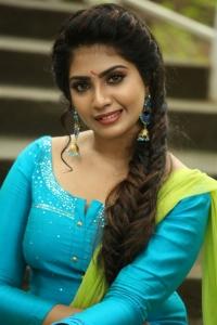 Actress Varsha Viswanath Pics @ Andamaina Lokam Movie Launch