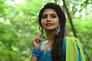 Andamaina Lokam Movie Heroine Varsha Viswanath Cute Pics