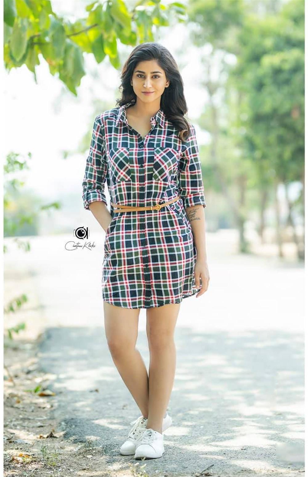 Actress Varshini Sounderajan Photoshoot Pictures