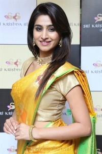 Actress Varshini Sounderajan Photos @ Sri Krishna Silks 10th Anniversary Celebrations