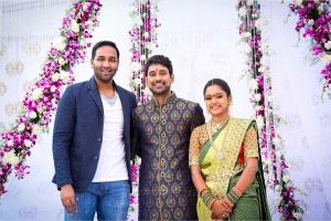 Vishnu Manchu @ Varun Sandesh Vithika Sheru Engagement Photos