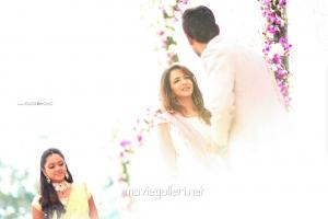 Manchu Lakshmi Prasanna @ Varun Sandesh Vithika Sheru Engagement Photos