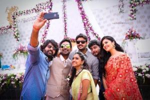 Varun Sandesh engagement with Vithika Sheru Photos