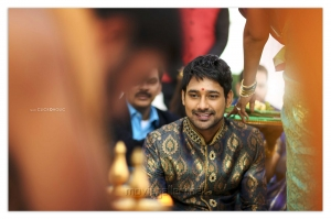 Telugu Actor Varun Sandesh Engagement Photos