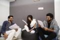 Sekhar Kammula, Sai Pallavi & Varun Tej @ Pre-production workshop