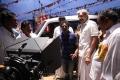 Ponram, Sathyaraj at Varutha Padatha Valibar Sangam Movie Working Photos