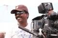 Cinematographer Balasubramaniam at Varutha Padatha Valibar Sangam Movie Working Photos