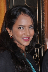 Lakshmi Prasanna Manchu at Varuvan Thalaivan First Look Launch Stills
