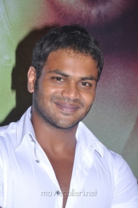 Manchu Manoj Kumar at Varuvan Thalaivan First Look Launch Stills