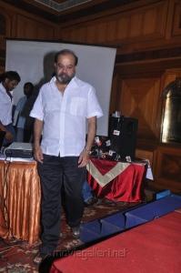 P.Vasu at Varuvan Thalaivan First Look Launch Stills
