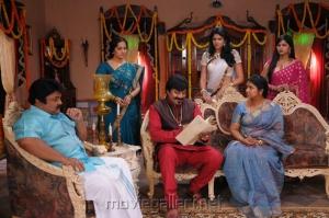 Prabhu, Saikumar, Prabha in Varuvan Thalaivan Movie Stills