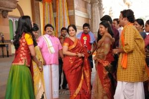 Prabhu,Prabha,Madhumitha in Varuvan Thalaivan Movie Stills