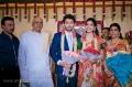 K Rosaiah at Vasanth Rishitha Wedding Reception Stills