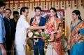 MK Stalin at Vasanth Rishitha Wedding Reception Stills