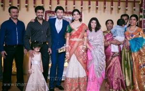 Arun Vijay at Vasanth Rishitha Wedding Reception Stills