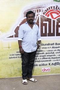 Singer Anthony Daasan @ Vazhga Vivasayi Movie Audio Launch Stills