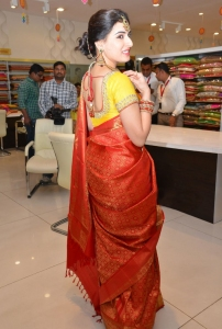 Veda Archana at Trisha Festive and Wedding Collection 2015 Launch