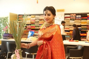 Archana Veda at Trisha Festive and Wedding Collection 2015 Launch