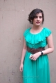 Veda Archana in Green Sleeveless Gown