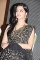 Vedhika Kumar in Black Saree @ Kaaviya Thalaivan Audio Release